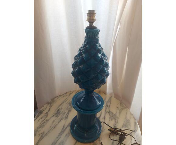 Pol Chambost ceramic pineapple lamp