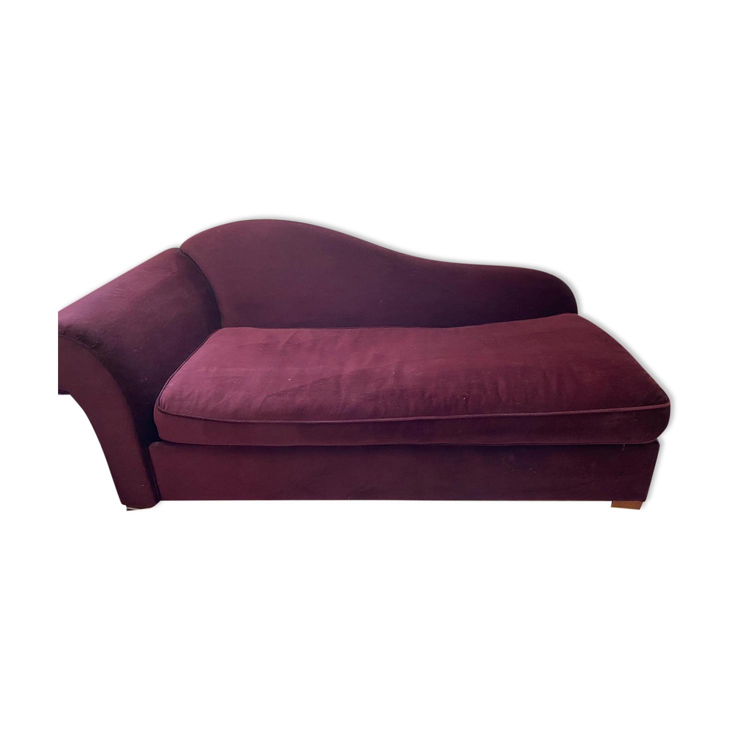 Canapé méridienne convertible