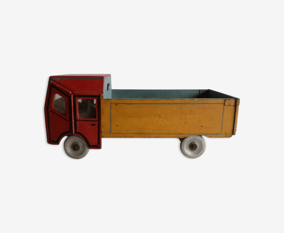 Large old wooden truck