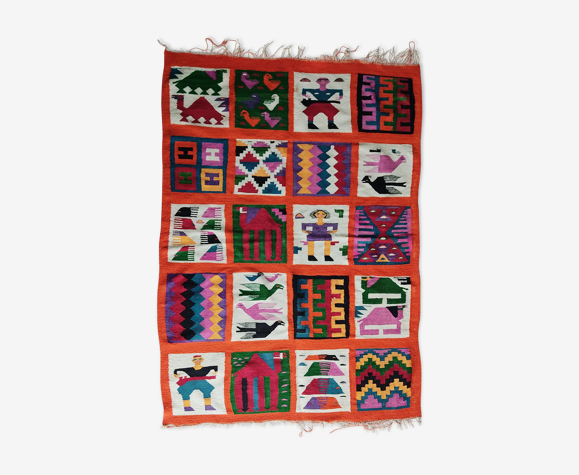 Tapis vintage Amérique du Sud 150 x 105 cm