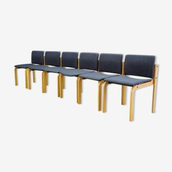 Fritz hansen chaises originales vintage rétro
