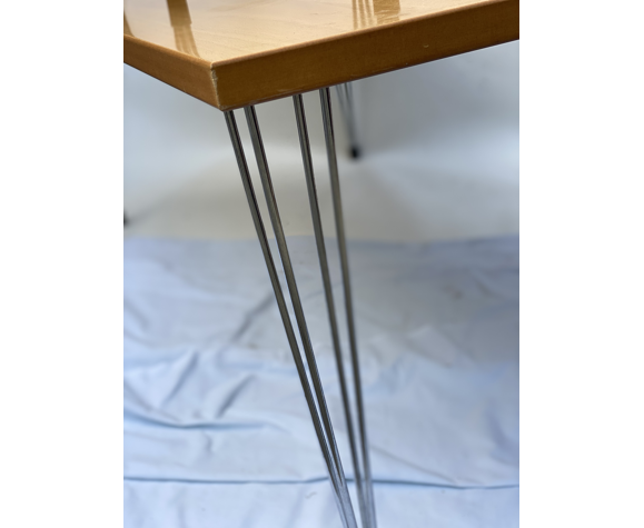 Duo of Danish PinAge Salon and Side Table