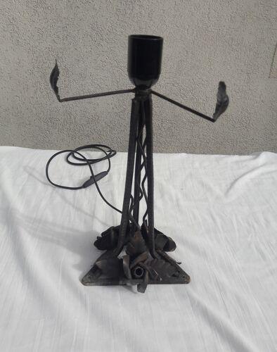 Pied de lampe style Art déco