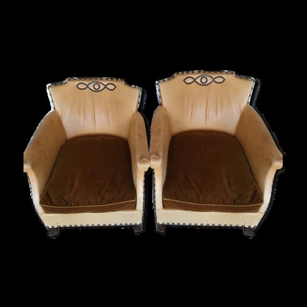 Selency Lot de 2 fauteuils