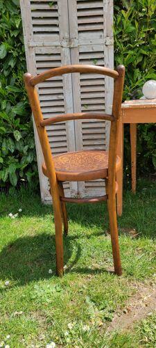Chaise bistrot vintage par J&J Kohn