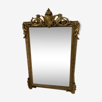 Miroir rocaille Louis XV - 124 X 74