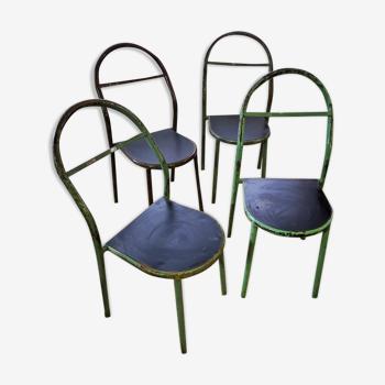 4 chaises de chez Mobilor