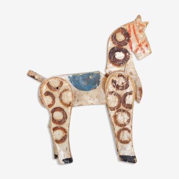 Cheval de bois ancien jouet