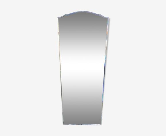 Miroir biseauté Art Déco 90cm x 40cm