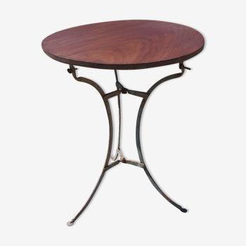 Table de Bistrot 1900 Bois et Fer
