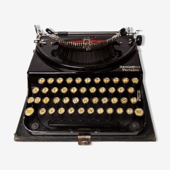 Revised Remington Portable Typewriter and New Ribbon