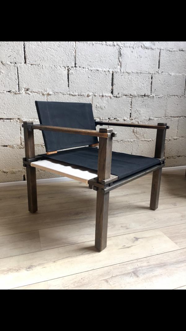 Paire de fauteuil Safari par Gerd Lange