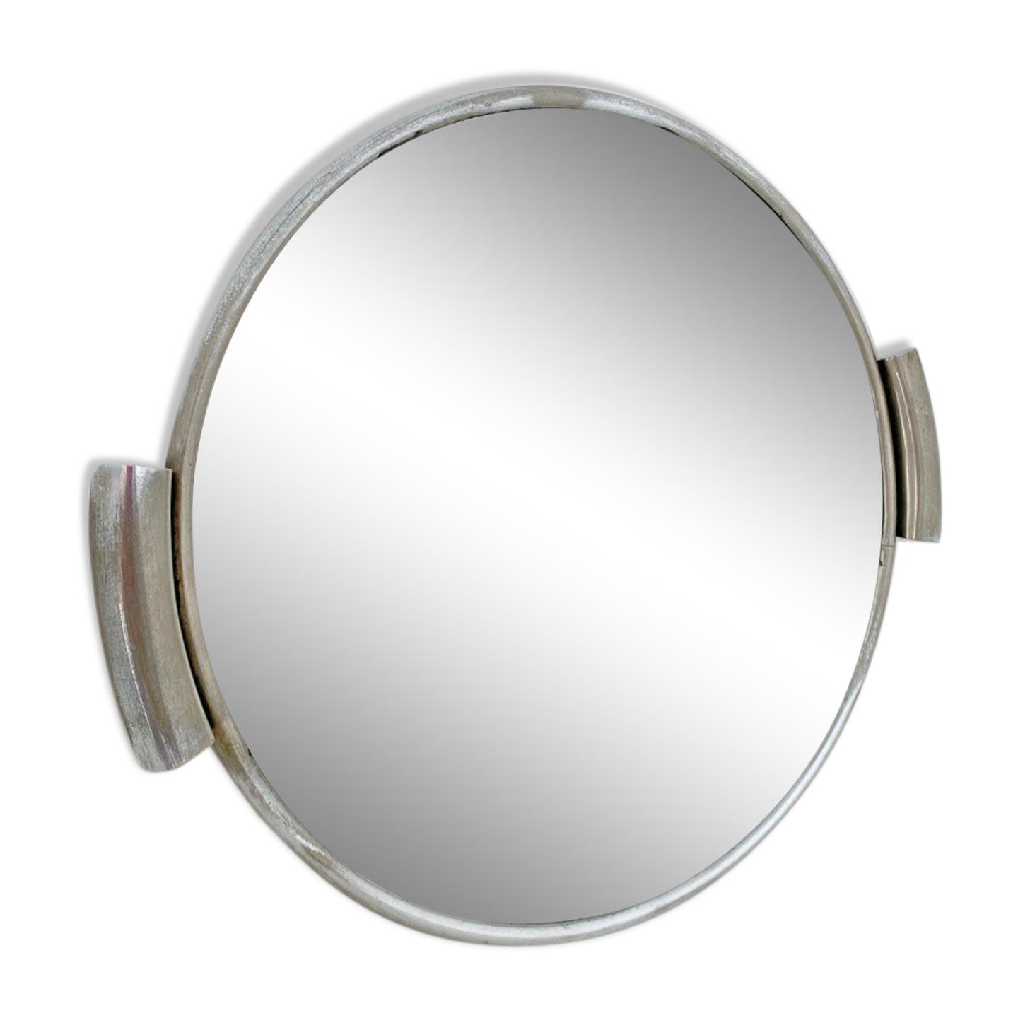 Plateau miroir art déco