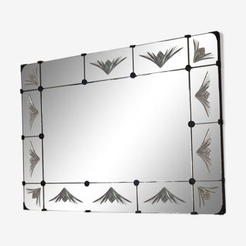 Miroir art déco art nouveau 99x66cm