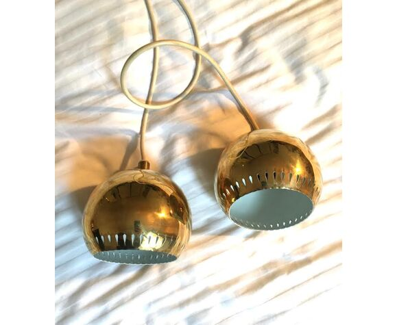 Pair of brass suspensions Hans-Agne Jakobsson