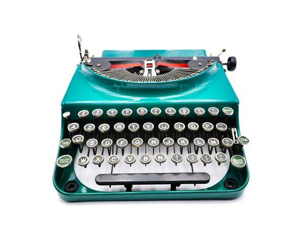 Machine à écrire Remington portable 1928 usa révisée ruban neuf