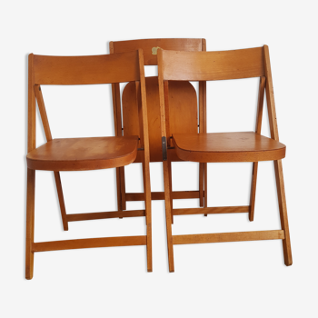 Lot de 3 chaises pliantes enfant