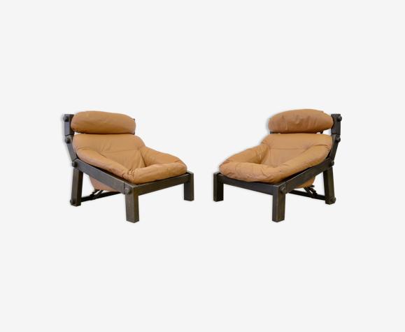 Fauteuils Montis par Gerard van den Berg design vintage