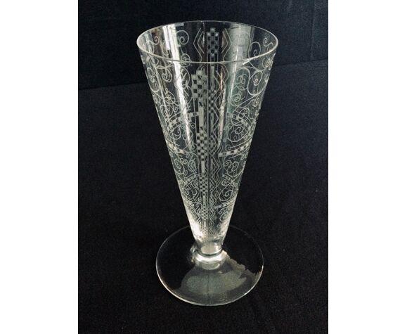 Vase en cristal de Baccarat modèle Lido