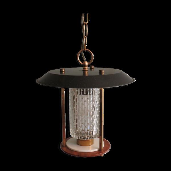 Suspension  lanterne Française des années 60.