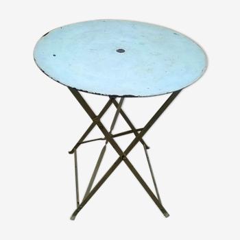 Table de jardin pliable ancienne