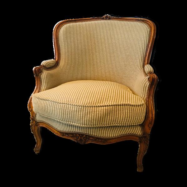 Bergère d'époque Louis XV restaurée