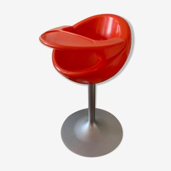 Mozzee Nest orange high child chair
