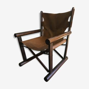 Carlo hauner &martin eisler - chaise longue oca pl22. années 1960