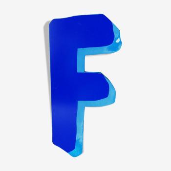 """Lettre d'enseigne """"f"""""""