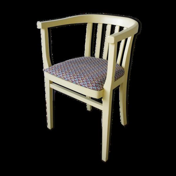 Chaise jaune des années 1950
