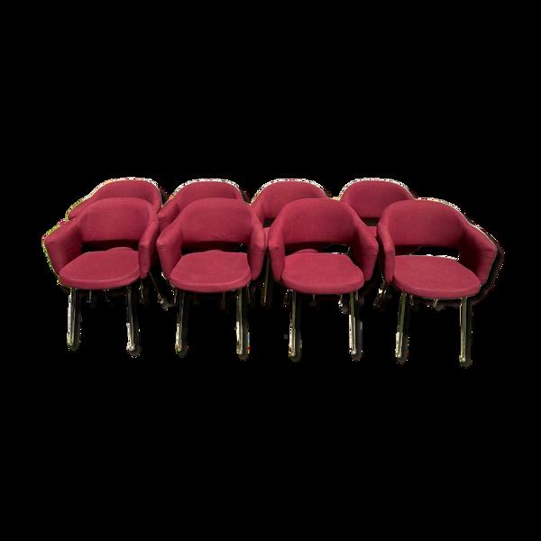 Série de 8 fauteuils