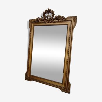 Miroir de cheminée trumeau 80x120cm
