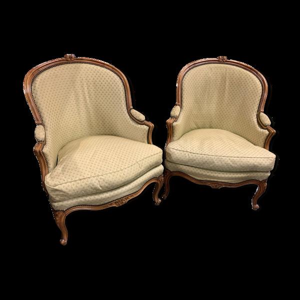 Selency Paire de bergére Louis XV