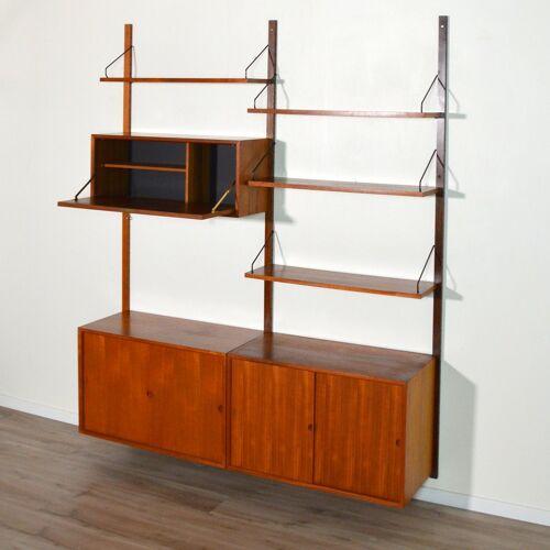 Système modulable Royal System par Poul Cadovius Danemark 1960
