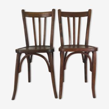 Paire de chaises bistrot Mathieu