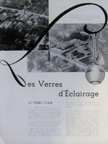 HOLOPHANE LUSTRE holophane present at CATALOGUE 1932