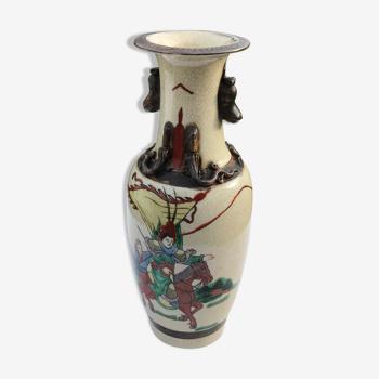 Vase chinois nankin