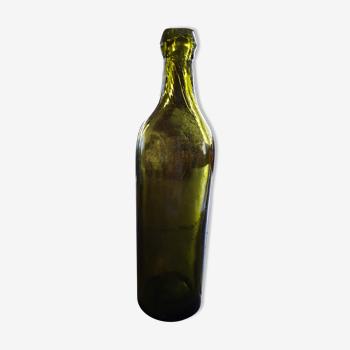 Bouteille ancienne en verre