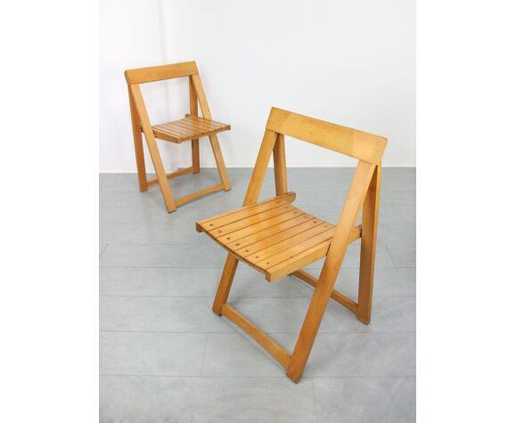Chaises pliantes vintage
