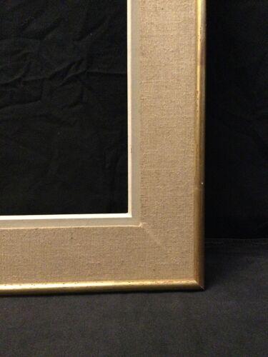Cadre tissus et dorure pour tableau