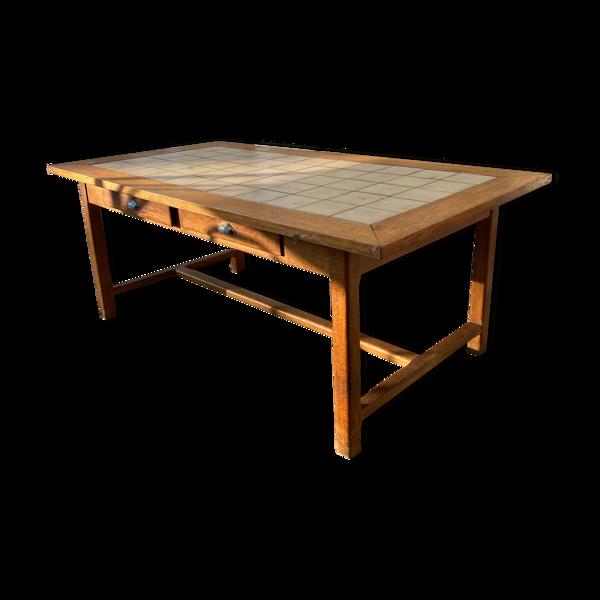 Selency Table de ferme ancienne