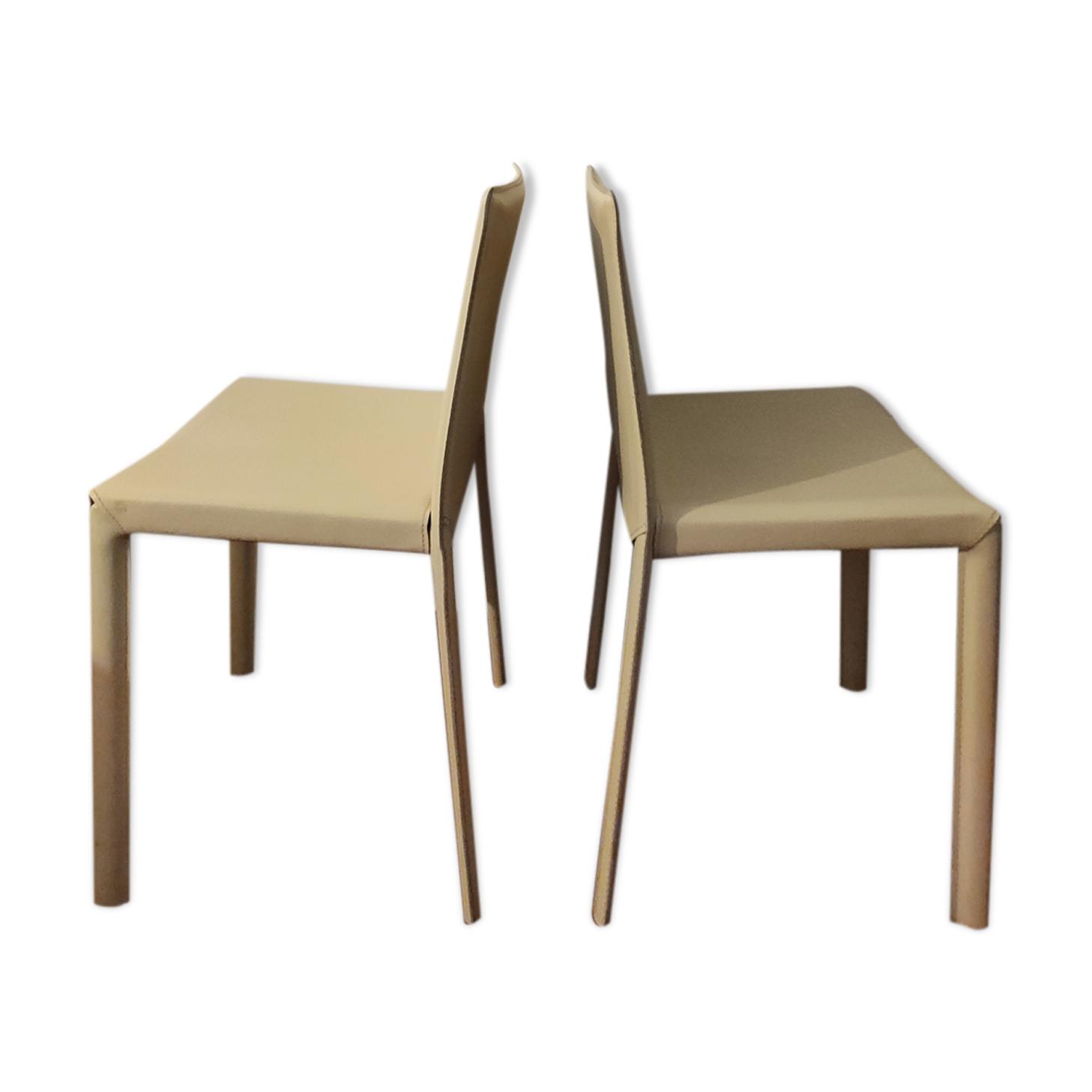 Lot de 2 chaises maison Protis
