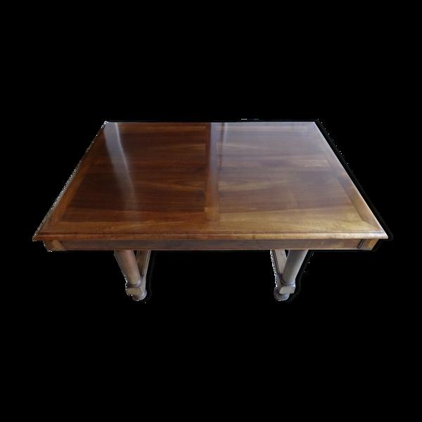 Table rectangulaire en noyer