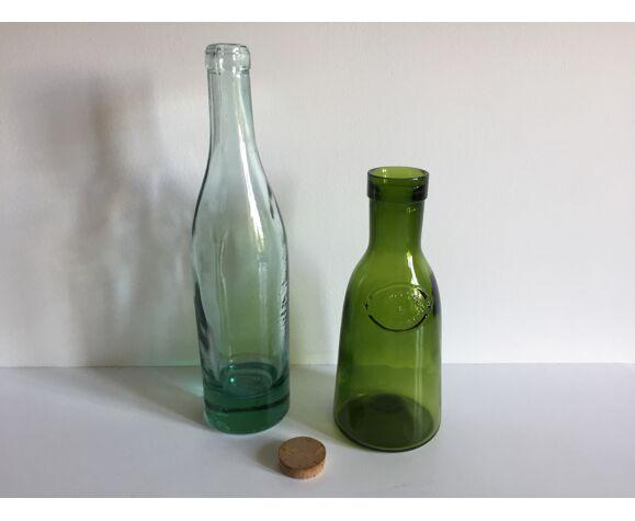 Lot de 2 bouteilles anciennes
