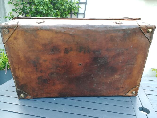 Valise ancienne en cuir