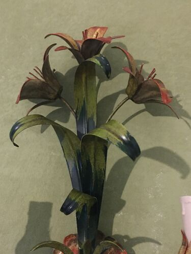 Applique fleurie