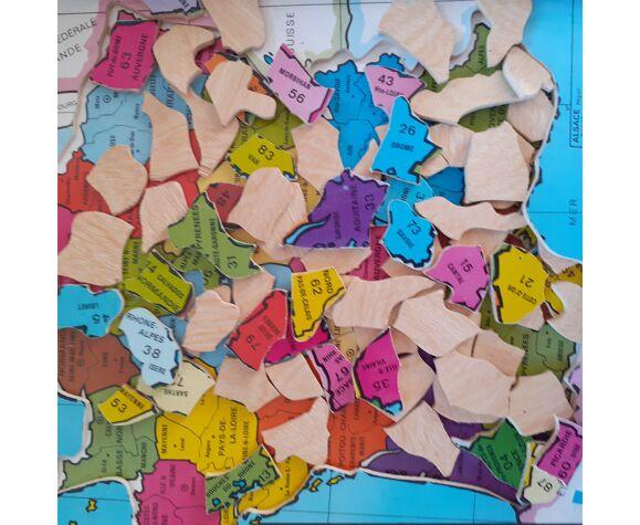 Ancient wooden puzzle France from Volumétrix