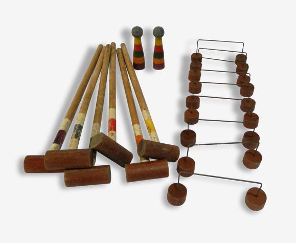 Ancien jeu de croquet de table