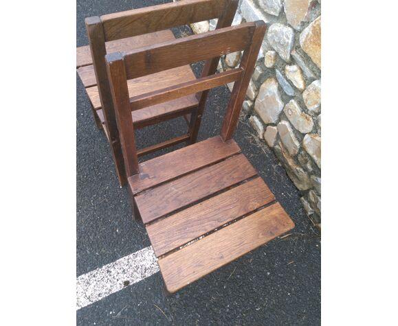 Paire de chaises style Reconstruction