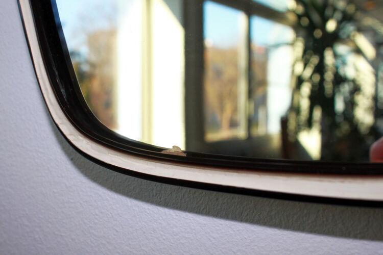 Miroir rétroviseur 1960 35x90cm